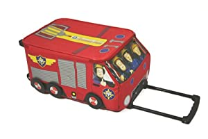 Trademark Collections Fireman Sam Wheelie Bag from Trademark Collections