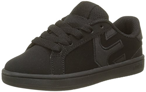EtniesEtnies Kids Fader Ls - Scarpe da Skateboard Bambino , Nero (Noir (Black Dirty Wash 013)), 35