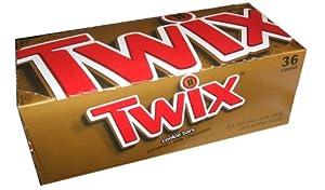 Twix Candy Bars 36 Count Box