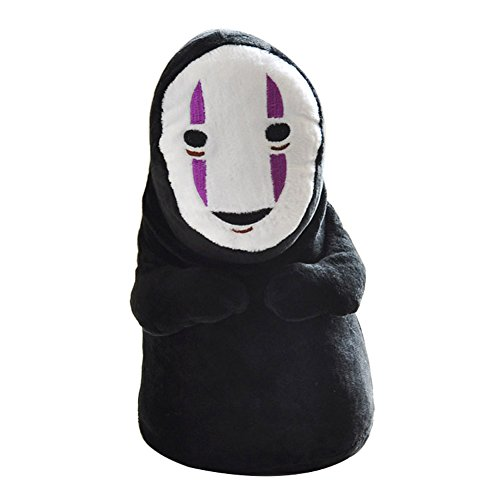 Wildforlife Anime Spirited Away Smiling No Face Man Stuffed Toy(10-inch)