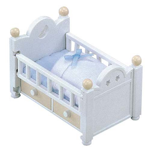 Sylvanian Families Baby & Child Room crib set over -203 (japan import) by Epoch - 1