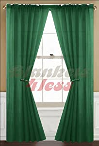 Hunter Green Curtains Window Treatments Hunter Green Thermal Curtains