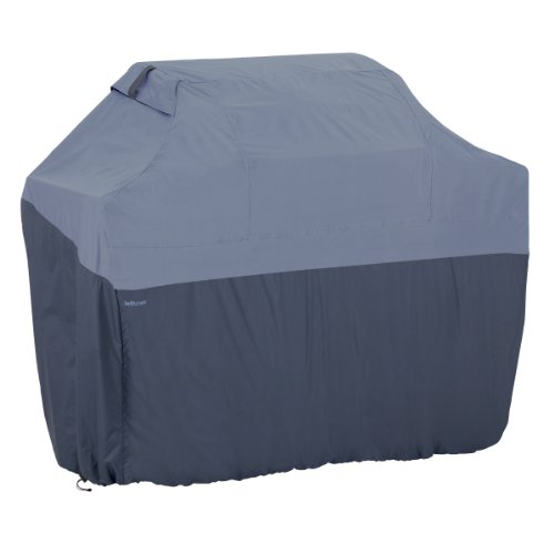 Classic Accessories 55-280-045501-00 Belltown Outdoor Grill Cover, Blue, Medium