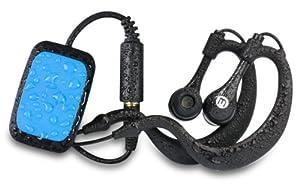 Memup Skite - Reproductor MP3 y auriculares resistentes al agua (4 GB), color azul [Importado de Francia]