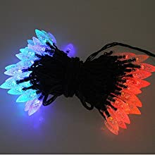 ASbeforereg 100 Colorful Outdoor Led Solar Fairy Lights Christmas Decor Lamp Gifts