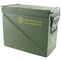 Large Military Ammo Box Watertight Camping Storage