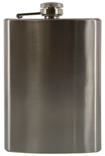SE 8 oz. Stainless Steel Hip Flask