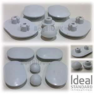 Ideal standard de rechange pour space lot de tampons pour for Lunette wc ideal standard