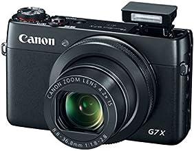 """Canon Powershot G7X Appareil photo numérique compact 20,2 Mpix Écran LCD 3"""" Zoom optique 4,2x - Noir"""