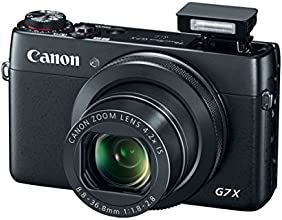 Canon PowerShot G7 X Digitalkamera (20,2 Megapixel, 4,2x opt. Zoom, WiFi, NFC) schwarz