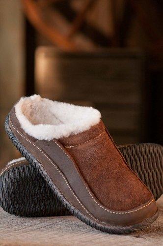 Image of Men's Acorn Roam Sheepskin Mule Slipper Shoes (B0051A2X7C)