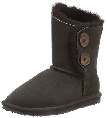 EMU AUSTRALIA Womens Valery Snow Boots W10541 Chocolate 5 UK, 38 EU, 7 US