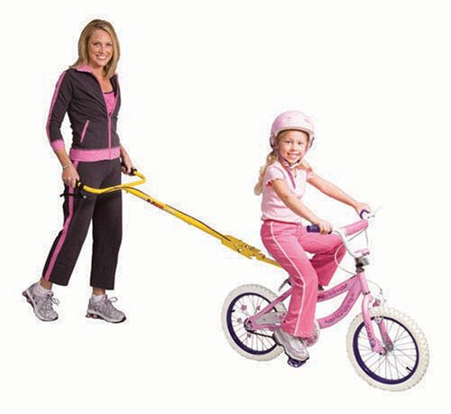 E-ZBar, Teaching your child to ride without training wheels-SAFELY, EASILY...NO MORE CRASHING!