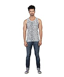 Funky Grey Printed Vest by Bfly