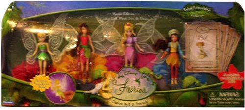 Disney Fairies Fairy Friendship Collection Special Edition with Tinker Bell, Pluck, Iris, &amp; Dulcie