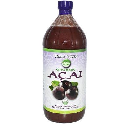 Отзывы Tahiti Trader Organic Acai Juice -- 32 fl oz