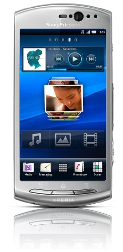 Sony Ericsson Xperia Neo Smartphone (9.4 cm (3.7 Zoll) Touchscreen, HDMI, Android OS 2.3, 8.1 Megapixel, inkl. 8GB MicroSD) silver