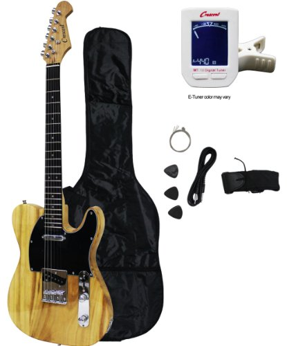 Crescent Tele Style 39 Electric Guitar Starter Kit