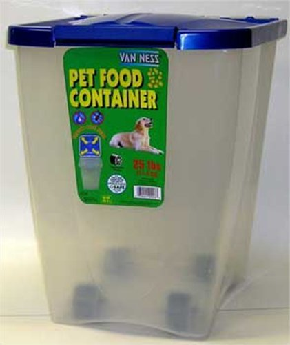 Airtight dog food containers