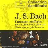 Bach : Cantates célèbres BWV 4, 202 et 147