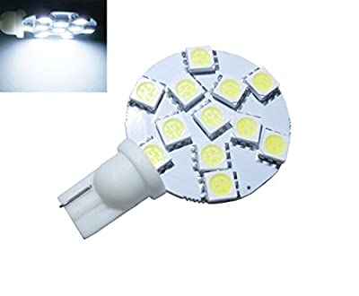 GRV T10 921194 12-5050 SMD LED Bulb lamp Super Bright White DC 12V Pack of 10