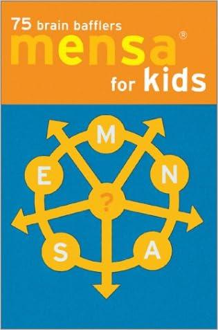 Mensa Brain Bafflers for Kids