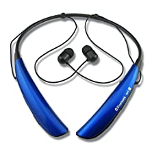 buy Rymemo Universal Wireless Hands-Free Bluetooth Music Audio Stereo Headsets Headphones Earphones Neckbands For Apple Iphone 6 Plus, Iphone 6, Iphone 5S, Iphone 5C, Iphone 5, Iphone 4S, Samsung Galaxy S5, S4, S3, Samsung Note 4, Note Iii, Note 2; Lg G4, Lg