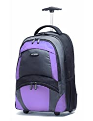 Samsonite Wheeled Backpack Black Bordeaux