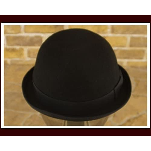 カスターノ CASTANO BOWLER HAT フェルト ボーラー ハット メンズ 44-132256-01ポー ブラック L