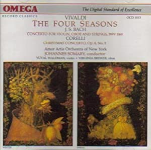 Four Seasons / Concerto Violin & Oboe / Xmas Cto