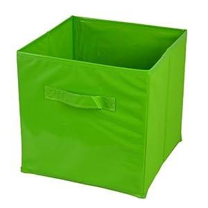 boite de rangement 27 x 27 x 27 cm couleur vert cuisine maison. Black Bedroom Furniture Sets. Home Design Ideas