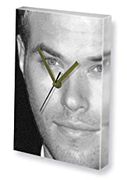KELLAN LUTZ - Canvas Clock (LARGE A3 - Signed by the Artist) #js002