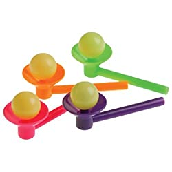 Blow Cup And Ball Games 12 Pack