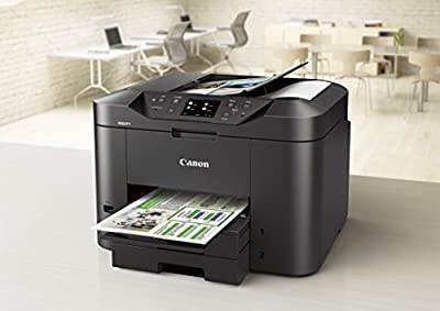 Canon MAXIFY MB2320 Wireless All-In-One Color Printer with Scanner, Copier and Fax (Airprint and Cloud Compatible)