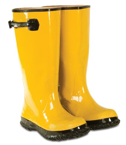 CLC Rain Wear R20007 Yellow Slush Boot, Size 7