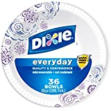 Dixie Heavy Duty Paper Bowls, 36 Count (Pack of 4)