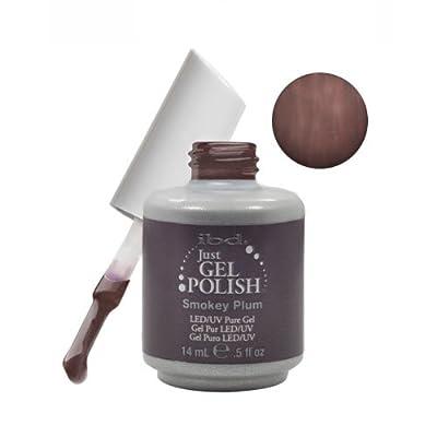 Gel SMOKY PLUM Soak Off Brown Nail Polish UV Manicure .5 oz Salon LED
