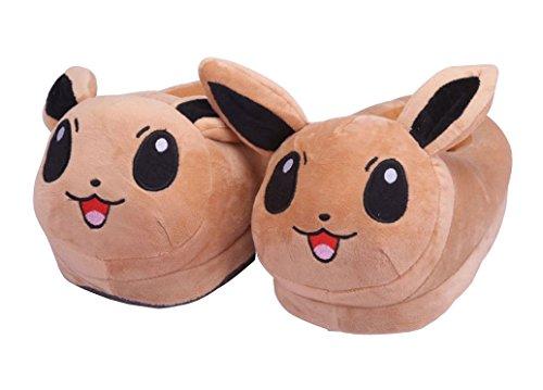 Katara-Pokemon-Onesize-Hausschuhe-aus-Plsch-viele-Designs