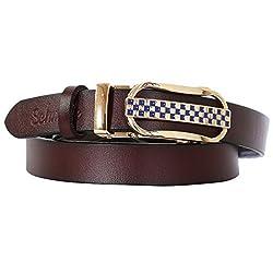 Schmick Women Dark Brown Leather Belt