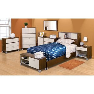 Nexera Topolino Twin / Full 5 Piece Bedroom Set