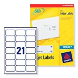 Avery J8160 Quick-DRY Inkjet Address Labels 100 (J8160-100)