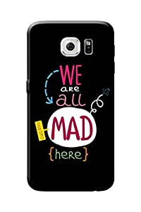Samsung Galaxy S6 Back Cover Premium Quality Designer Printed 3D Lightweight Slim Matte Finish Hard Case Back Cover for Samsung Galaxy S6 by Tamah