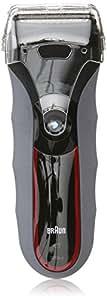 Braun Series 320S-4 Shaver (Red/Grey)