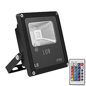 10w rgb led flood lights color changing led security light 16 colors. Black Bedroom Furniture Sets. Home Design Ideas