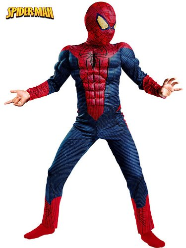 Spider-Man Movie Classic Muscle Costume - Small