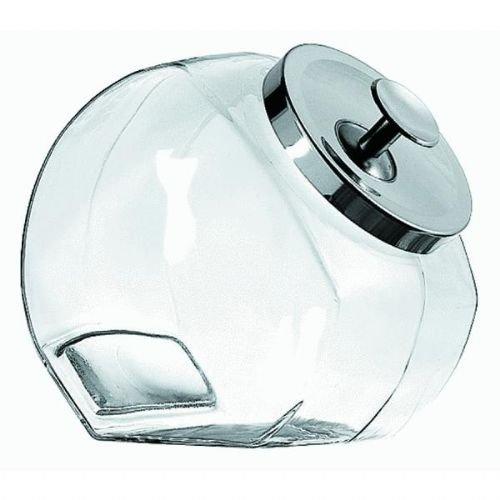 Anchor Hocking Penny Candy Jar, 1-Gallon, Chrome Lid