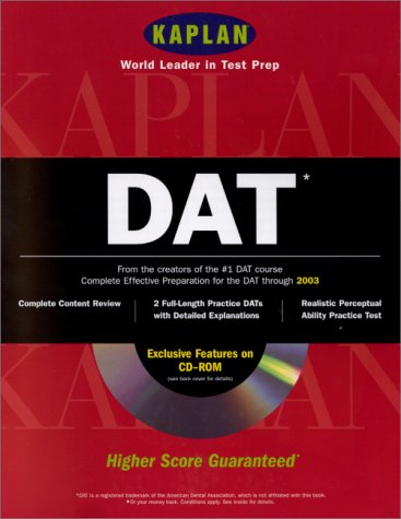 Kaplan DAT (Book with CD-ROM for Windows  &  Macintosh)
