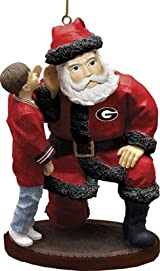 Santa's Secret Ornament-Georgia