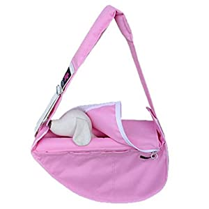 Fundle Ultimate Pet Sling Classic Series Color: Pink Size: Standard