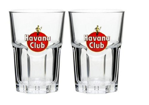 HAVANA CLUB GLAS 2+4CL /-/NEU